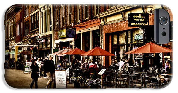 Rita iPhone Cases - Market Square - Knoxville Tennessee iPhone Case by David Patterson