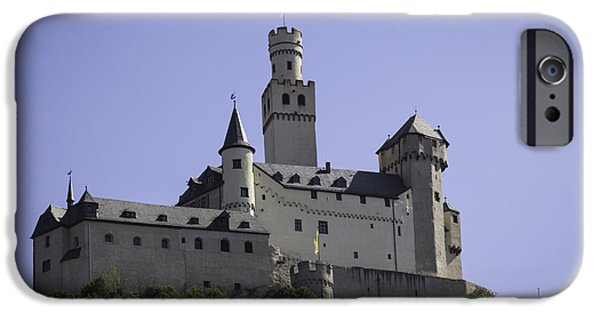 Recently Sold -  - Historic Site iPhone Cases - Marksburg Castle 18 iPhone Case by Teresa Mucha