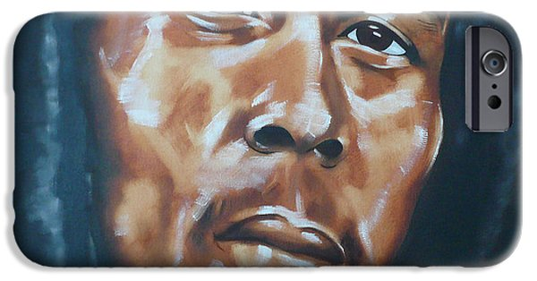Raw Sienna iPhone Cases - Marley iPhone Case by Belle Massey