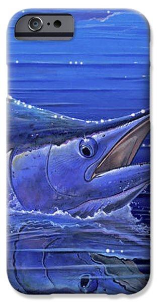 Marlin mirror Off0022 iPhone Case by Carey Chen
