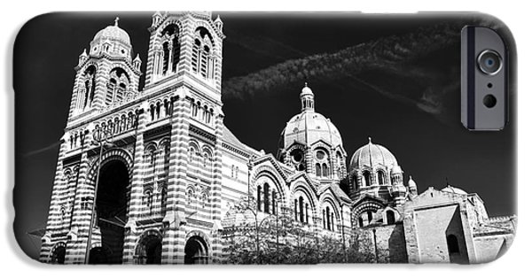 White House iPhone Cases - Marseille Cathedral iPhone Case by John Rizzuto