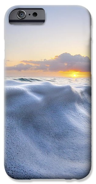 Marshmallow Tide iPhone Case by Sean Davey