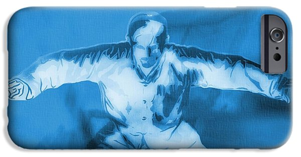 Mixed Martial Artist Digital Art iPhone Cases - Martial Arts Poster iPhone Case by Dan Sproul