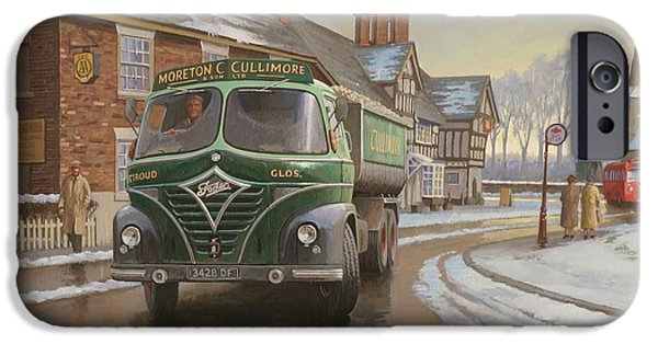 Wintertime iPhone Cases - Martin C. Cullimore tipper. iPhone Case by Mike  Jeffries