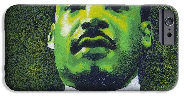 D.c. iPhone Cases - Martin Luther King Jr iPhone Case by Mountain Dreams