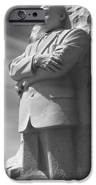Martin Luther King Jr. Memorial - Washington D.C. iPhone Case by Mike McGlothlen