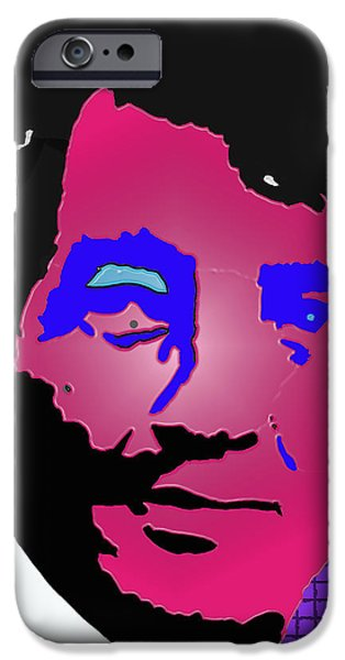 Frank Sinatra Paintings iPhone Cases - Martini man iPhone Case by Robert Margetts