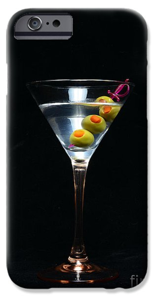 Cheer On iPhone Cases - Martini iPhone Case by Paul Ward