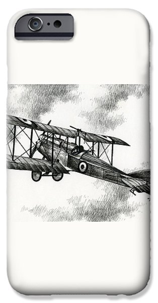 Martinsyde G 100 iPhone Case by James Williamson
