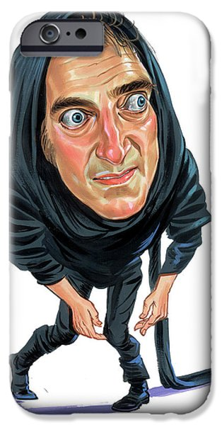 Comedian iPhone Cases - Marty Feldman as Igor iPhone Case by Art
