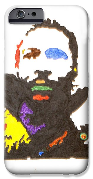 Marvin Gaye iPhone Case by Stormm Bradshaw
