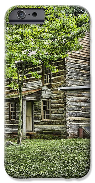 Mary Dells House iPhone Case by Heather Applegate