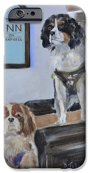 Mascots of The Inn iPhone Case by Donna Tuten