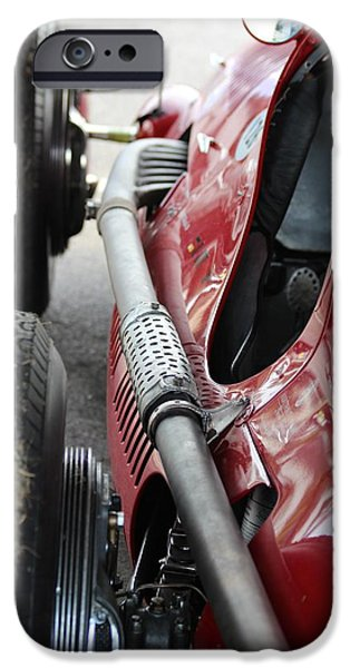 Clt iPhone Cases - Maserati 4 CLT 1948 iPhone Case by Robert Phelan