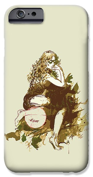 Printmaking iPhone Cases - Yeoseong iPhone Case by Julio R Lopez Jr