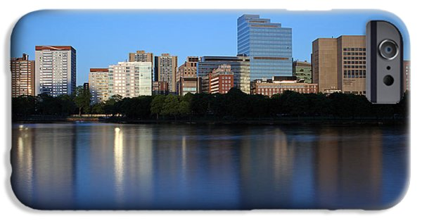 Boston Ma iPhone Cases - Mass Eye and Ear Infirmary with Boston West End iPhone Case by Juergen Roth