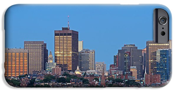Charles River iPhone Cases - Massachusetts State House and Beacon Hill iPhone Case by Juergen Roth