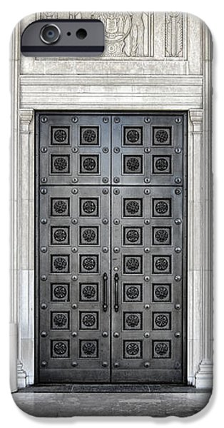 Massive Doors iPhone Case by Olivier Le Queinec