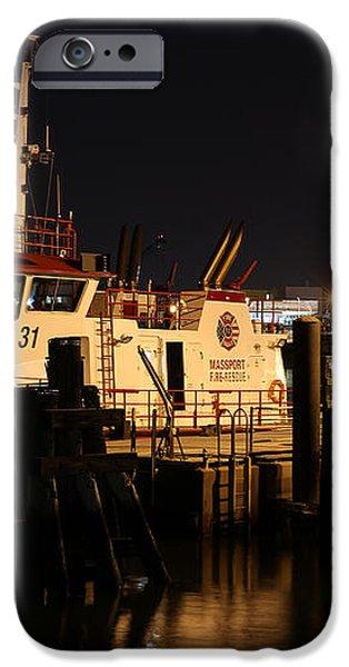 Massport Fire Rescue 31 iPhone Case by Juergen Roth
