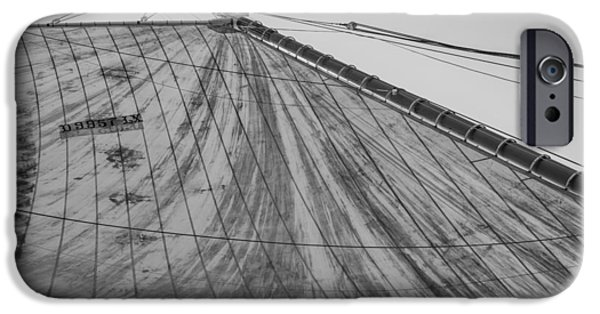 Pleasure iPhone Cases - Mast And Sail I iPhone Case by Marco Oliveira