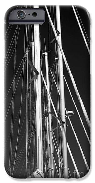 Mast Profile iPhone Case by John Rizzuto
