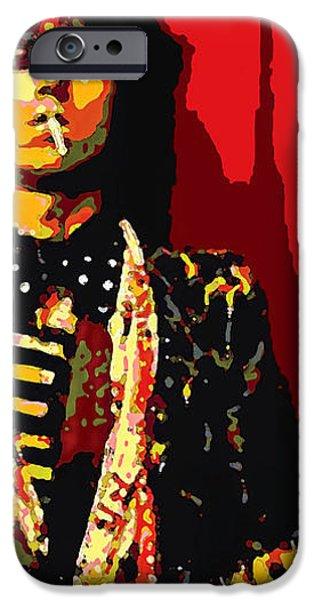 Master Keith iPhone Case by John Travisano