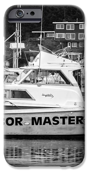 Master of the Harbor iPhone Case by Melinda Ledsome