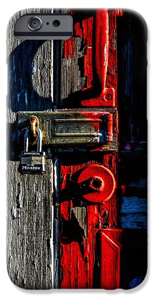 Master Of The Old Red Barn iPhone Case by Bob Orsillo