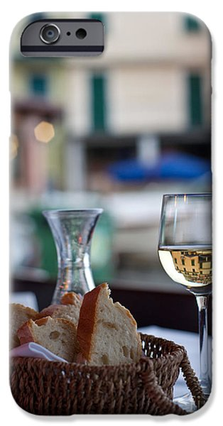 Vino Photographs iPhone Cases - Mastering the Art of Living Well iPhone Case by Mike Reid