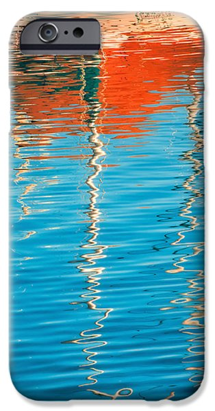 Sailboats iPhone Cases - Masts Showing Off iPhone Case by Joan Herwig