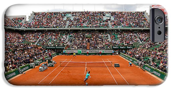Best Sellers -  - French Open iPhone Cases - Match Point iPhone Case by Alexi Hoeft