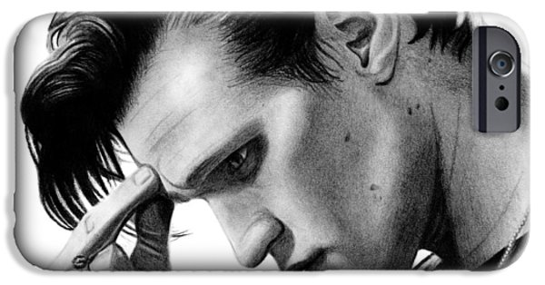 Chain-ring iPhone Cases - Matt Smith - The 11th Doctor iPhone Case by Kayleigh Semeniuk
