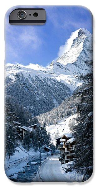 Matterhorn  iPhone Case by Brian Jannsen