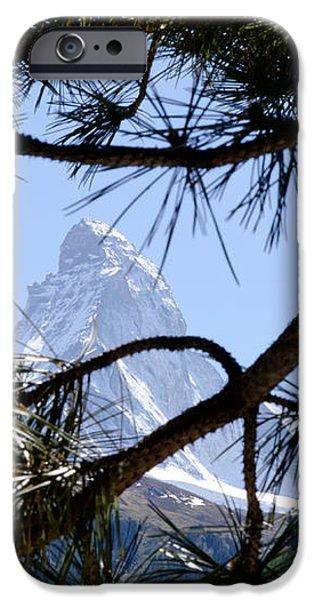 Matterhorn iPhone Case by Mats Silvan