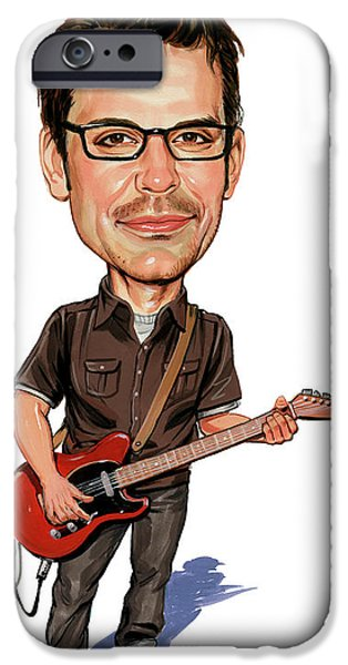Matthew Good iPhone Case by Art