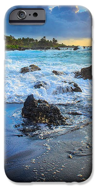 Maui Dawn iPhone Case by Inge Johnsson