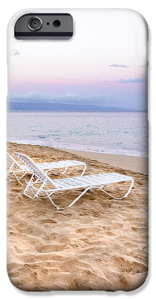 Morning iPhone Cases - Maui Morning - Kihei Beach Sunrise - Hawaii iPhone Case by Brian Harig