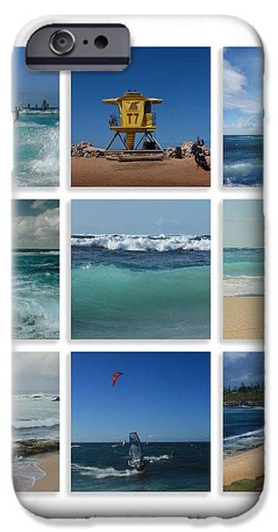 Maui North Shore Hawaii iPhone Case by Sharon Mau