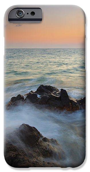 Maui Tidal Swirl iPhone Case by Mike  Dawson