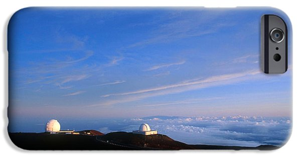 Keck iPhone Cases - Mauna Kea Observatory iPhone Case by Gregory G. Dimijian