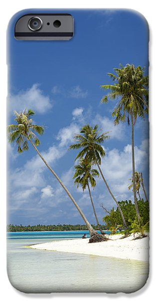 Recently Sold -  - Overhang iPhone Cases - Maupiti Lagoon iPhone Case by Kyle Rothenborg - Printscapes