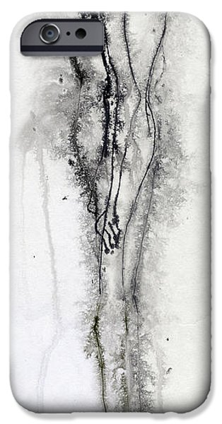 Pen And Ink iPhone Cases - Maurice iPhone Case by Shayne Cooper