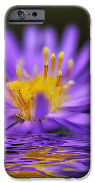Mauve Softness and Reflections iPhone Case by Kaye Menner