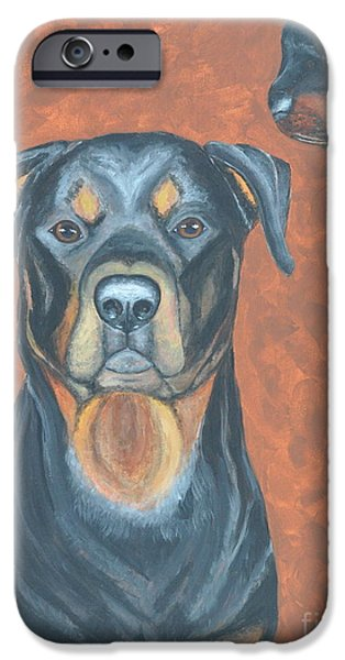 Dogs iPhone Cases - Max iPhone Case by Sally Rice