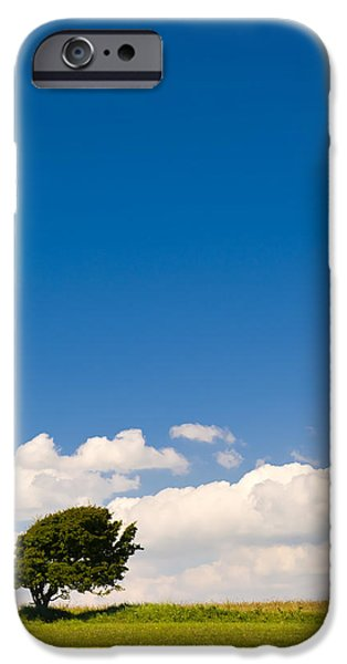 Agricultural iPhone Cases - Maximum Blue iPhone Case by Mick House