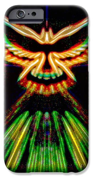 Michael Mixed Media iPhone Cases - May Peace  Be With Us iPhone Case by M and L Creations