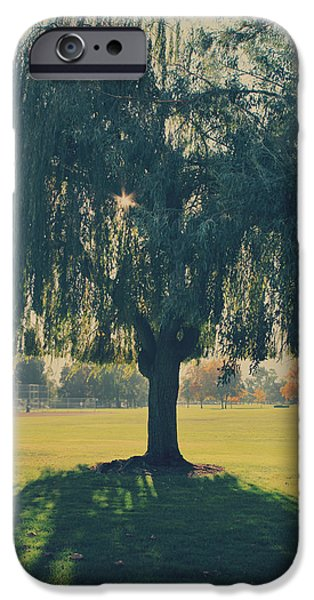 Weeping iPhone Cases - Maybe Well Find It Someday iPhone Case by Laurie Search