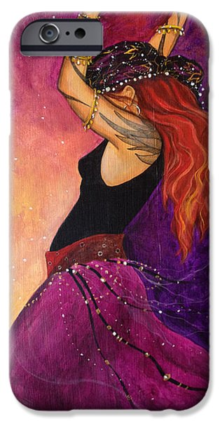 Pagan iPhone Cases - Mayfire iPhone Case by Dori Hartley