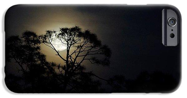 Lynda Dawson-youngclaus Photographer iPhone Cases - Mays Flower Moon iPhone Case by Lynda Dawson-Youngclaus