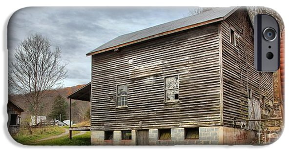 Grist Mill iPhone Cases - McClungs Mill In Monroe County iPhone Case by Adam Jewell